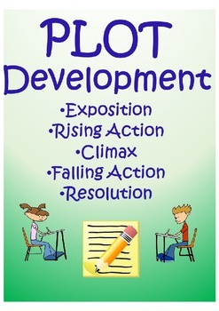PLOT DEVELOPMENT (Exposition, Rising Action, Climax, Falling Action, Resolution)