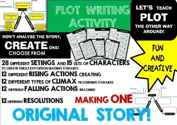 PLOT - CREATIVE WRITING ACTIVITY