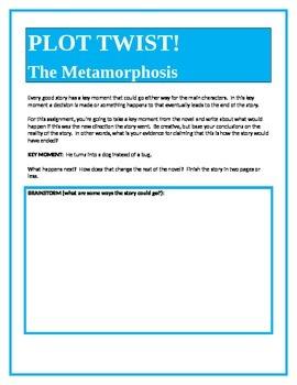 PLOT TWIST!  The Metamorphosis