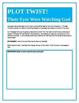 PLOT TWIST!  Their Eyes Were Watching God