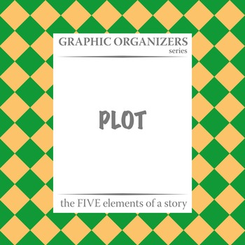 PLOT: The FIVE Elements of a Story Graphic Organizers