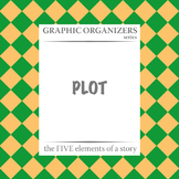 PLOT: The FIVE Elements of a Story Graphic Organizers - Distance Learning