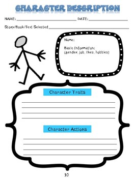 PLOT and CHARACTERS - Reading Literature Toolkit - RL6.3