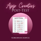 PLTW App Creators Post Test