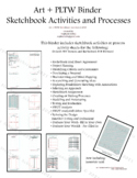 PLTW, Science and Art Processes and Activities Binder
