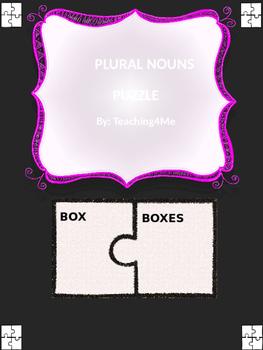 PLURAL NOUN PUZZLE