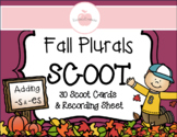 PLURAL NOUNS ADD -S OR -ES REVIEW SCOOT ACTIVITY WITH RECORDING SHEET