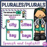 PLURALES/PLURALS - ANCHOR CHARTS AND CENTER ACTIVITIES