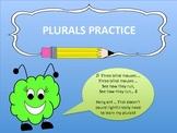 PLURALS PRACTICE WORKSHEETS