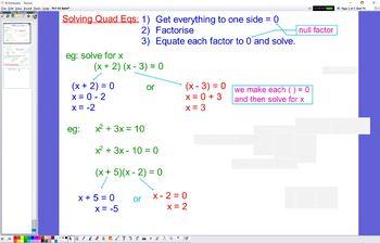 PLY 03 Solving Quadratic Equations