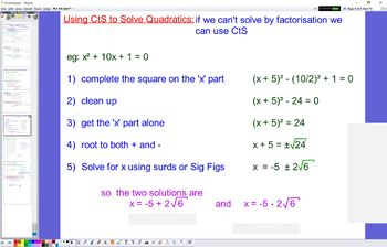 PLY 04 Completing the Square