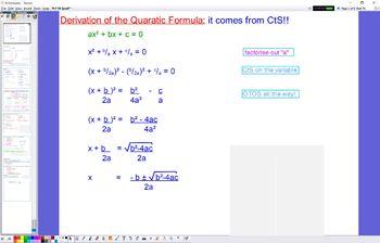 PLY 06 Quadratic Formula and Discriminant