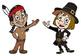 """""""PLYMOUTH ROCK"""" PILGRIMS AND INDIANS THANKSGIVING STORY Gr"""