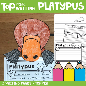 Platypus Writing Pages with Topper