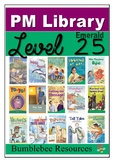 PM Guided Reading Activities Level 25 - Emerald