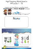 PM Levels 1 - 10 Sight Words - Code Mapped® & Monster Mapp