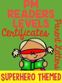PM READERS Level Certificates with Parent Letter