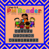PM Reader Guided Reading Worksheets Titles O-Z