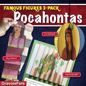 POCAHONTAS ACTIVITIES: 3 Hands-On Projects and Foldable Craftivities
