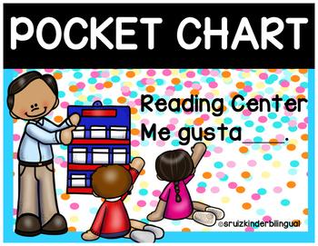 POCKET CHART- Reading Center