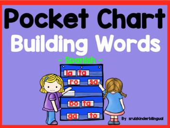 POCKET CHART BUILDING WORDS ~Spanish~