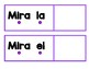 POCKET CHART READING and WRITING CENTER ~~Spanish~~