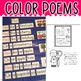 POCKET CHARTS! Color Word Poems for Shared Reading (Pocket Chart Version)