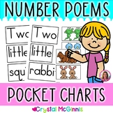 POCKET CHARTS! Number Word Poems for Shared Reading (Pocket Chart Version)