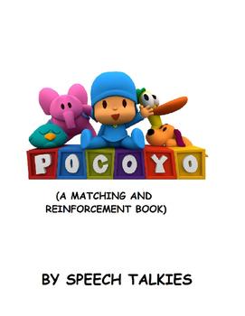 POCOYO: Matching and Reinforcement Book (Speech, Autism, Behavior)