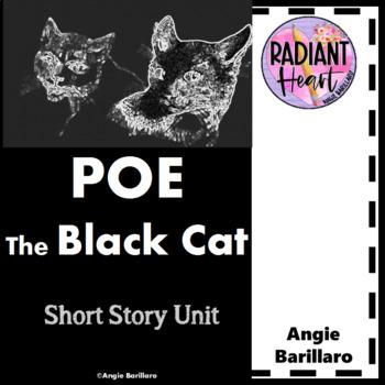 POE- THE BLACK CAT WORKSHEETS