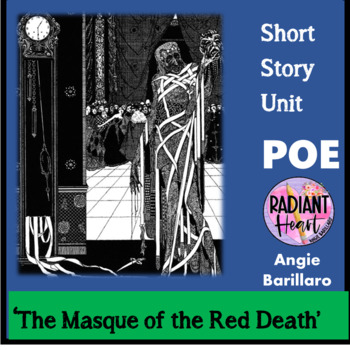 POE- THE MASQUE OF THE RED DEATH WORKSHEETS