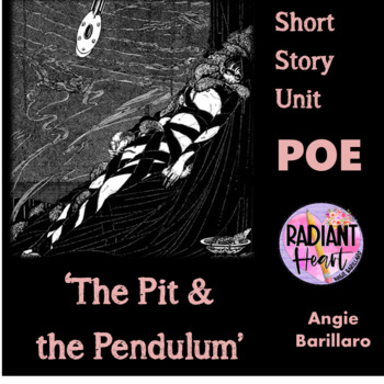 POE- THE PIT AND THE PENDULUM/ THE TELLTALE HEART WORKSHEET