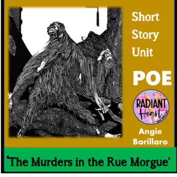 POE- THE PURLOINED LETTER & THE MURDERS OF THE RUE MORGUE WORKSHEETS