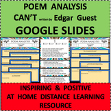 POEM ANALYSIS GOOGLE SLIDES Can't by Edgar Guest Online Di