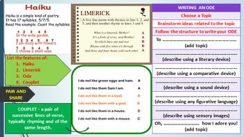 POEM WRITING: READY TO USE LESSON PRESENTATION