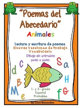 POEMAS DEL ABECEDARIO. ANIMALES. UN POEMA POR LETRA EN ESPAÑOL