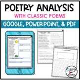 POETRY ANALYSIS | POETRY WRITING | DISTANCE LEARNING | GOOGLE