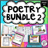 POETRY BUNDLE #2 WITH POETRY ANALYSIS PRACTICE