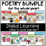 POETRY BUNDLE (Digital/Distance Learning) for use with Goo