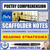 POETRY COMPREHENSION - SCAFFOLD NOTES