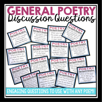POETRY DISCUSSION QUESTIONS & STUDENT GUIDE