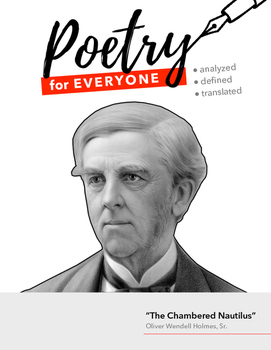 """POETRY FOR EVERYONE Study Guide- Oliver W. Holmes, Sr.- """"The Chambered Nautilus"""""""