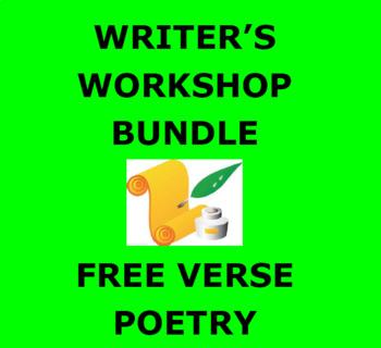 POETRY: FREE VERSE: Writer's Workshop Step by Step Booklet