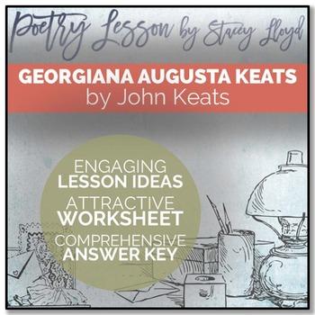 POETRY LESSON: 'Georgiana Augusta Keats' by John Keats