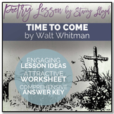 POETRY LESSON: 'Time To Come' by Walt Whitman