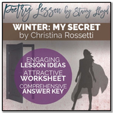 POETRY LESSON: 'Winter: My Secret' by Christina Rossetti