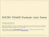 POETRY POWER Planbook:  Color Poems