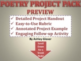 POETRY PROJECT PACK (Instructions, Rubric, Example, & Follow-Up Activity)
