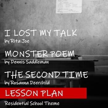 POETRY REVEAL - Lesson Plan - FNMI Theme