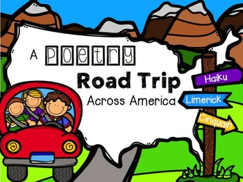 POETRY Road Trip Student Book, Review Game, & MORE!